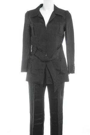 Prada Trouser Suit black business style