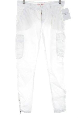 Prada Houlihans white casual look