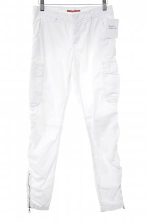 Prada Houlihans white casual look