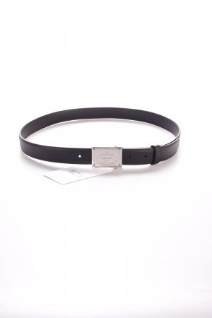 "Prada Hüftgürtel ""Saffiano Leather Belt Nero 90 cm"""