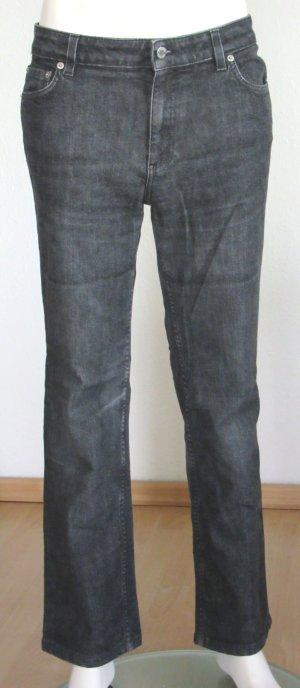"PRADA Jeans Größe 31 ""Regular Fit"" 5-Pocket schwarz/grau Logo"