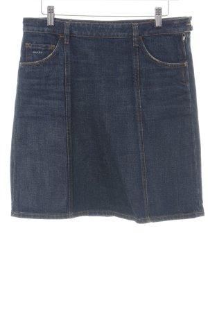Prada Gonna di jeans blu neon stile casual