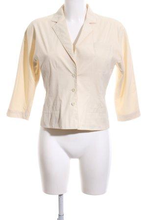 Prada Jersey Blazer natural white casual look
