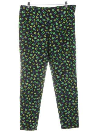 Prada Peg Top Trousers allover print casual look