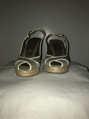 Prada Sandals white-sand brown