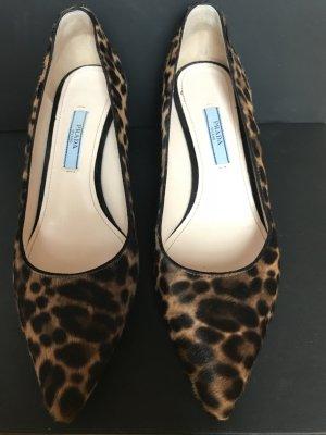 Prada Kitten Heels mit Leopardenmuster