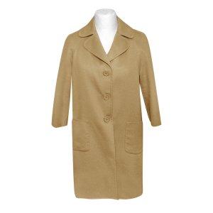 Prada Manteau en laine chameau