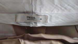 Prada Klassische Stoffhose helles beige italienische 46