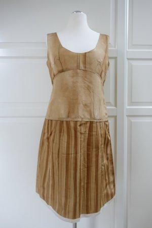 PRADA Kleid, aus Seide, in hellbraun bis mittelbraun, aus der Kollektion 'Spring 2006', ital. 48 (EUR 42/44)