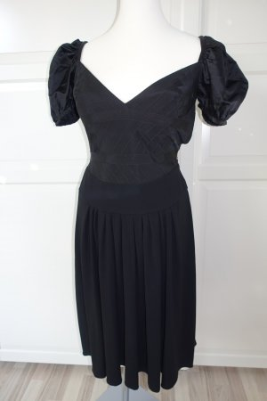 Prada Vestido bustier negro