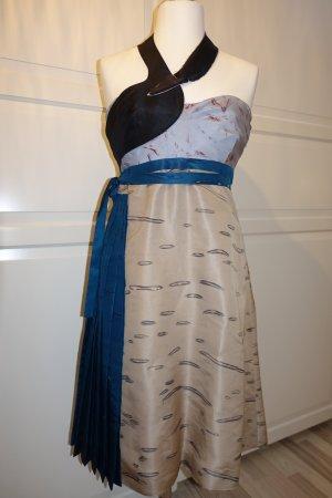 Prada Vestido bustier multicolor Seda