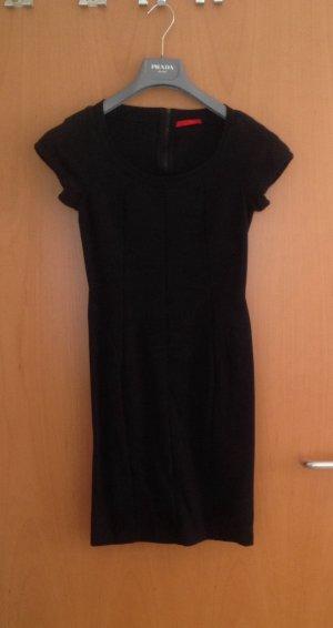 Prada knielanges Kleid schwarz