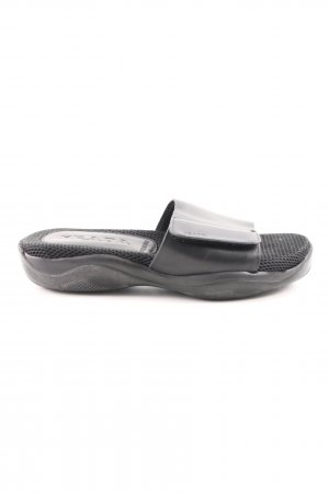 Prada Komfort-Sandalen schwarz Casual-Look