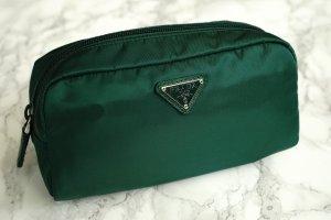 Prada Kosmetiktasche Camouflagegrün