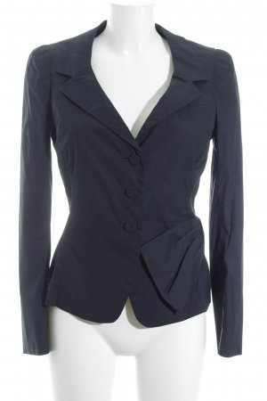 Prada Kurz-Blazer dunkelblau Business-Look