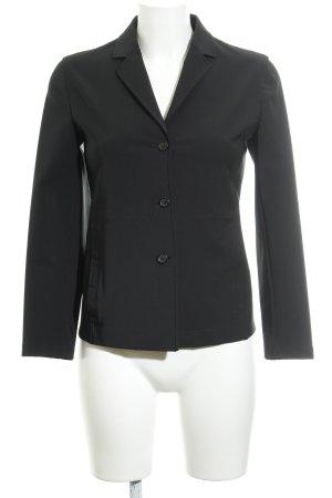 Prada Kurz-Blazer schwarz schlichter Stil