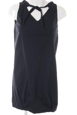 Prada Kurzarmkleid dunkelblau Casual-Look
