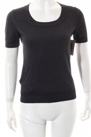 Prada Short Sleeve Sweater anthracite casual look