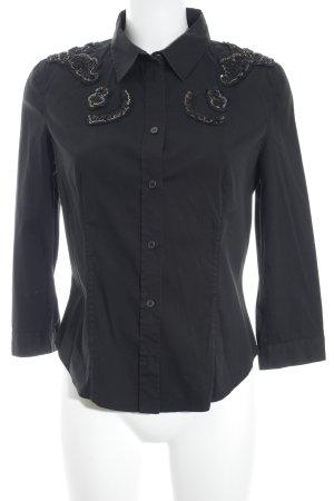 Prada Langarmhemd schwarz Casual-Look