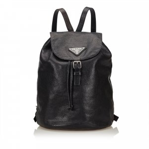 Prada Leather Backpack