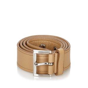 Prada Belt brown leather