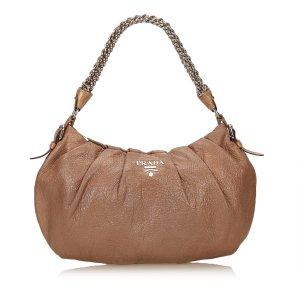 Prada Leather Chain Handbag