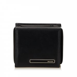 Prada Leather Coin Pouch