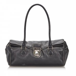 Prada Leather Easy Shoulder Bag