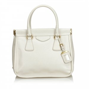 Prada Handbag white leather