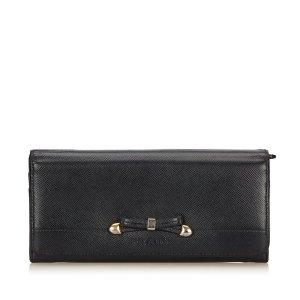 Prada Leather Long Wallet