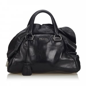 Prada Leather Mordore Handbag