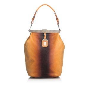 Prada Leather Ombre Shoulder Bag