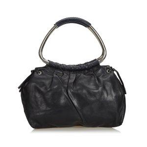 Prada Leather Ring Handbag