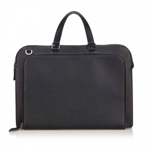 Prada Leather Saffiano Briefcase