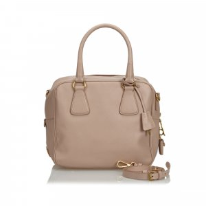 Prada Leather Saffiano Satchel