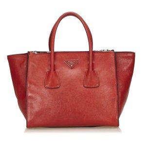 Prada Leather Saffiano Tote