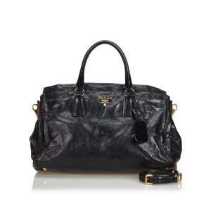 Prada Satchel black leather