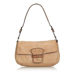 Prada Shoulder Bag light brown leather