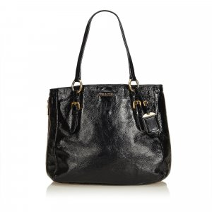 Prada Tote black imitation leather