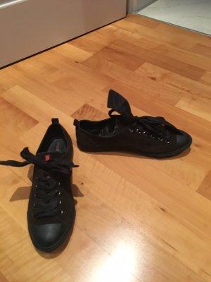 Prada Sneaker stringata marrone scuro-nero