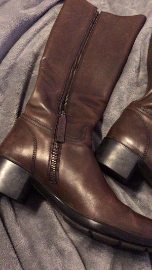 Prada Winter Boots brown-dark brown