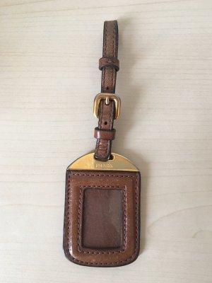 Prada Portachiavi marrone-oro Pelle
