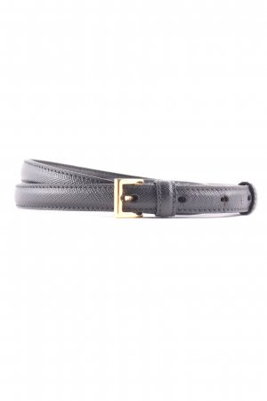 "Prada Leather Belt ""Belt Saffiano Nero 85"""
