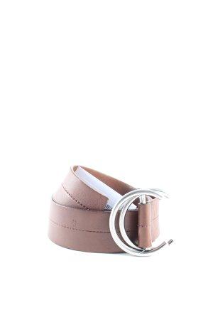 Prada Leather Belt dark brown casual look