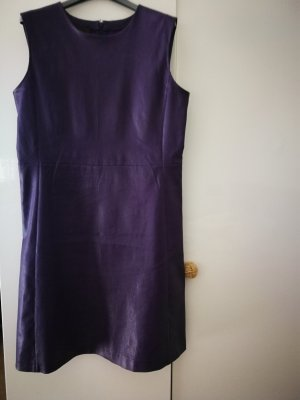 Prada Leather Dress dark violet