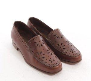 PRADA Loafers Flats Schuhe Leder Hippie Gr. D 36,5