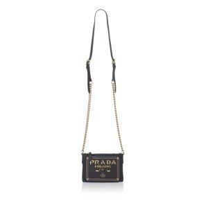 Prada Logo Chain Bag