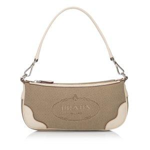 Prada Logo Jacquard Handbag