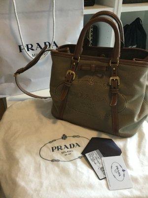 Prada Logo jaquard Tasche