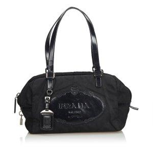 Prada Logo Nylon Handbag